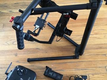 Rent: DJI Ronin 3-Axis Brushless Gimbal Stabilizer