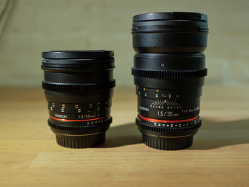 Rent: Rokinon 35mm Cine T1.5 (Canon EF)