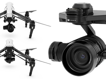 Rent: Inspire 1 Pro X5R 4k Raw DJI Focus 4 Lenses 2 remotes 2 iPad