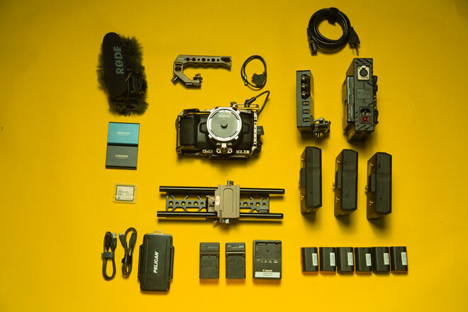 Blackmagic Pocket 4K PL Fundamentals Kit