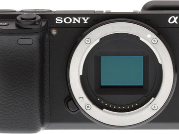 Rent: Sony a6300 Body only