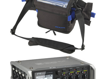 Rent: Zoom F4 Multitrack Field Recorder ZF4