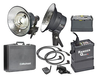 Rent: Elinchrom 400W/s Ranger Quadra A Light Kit