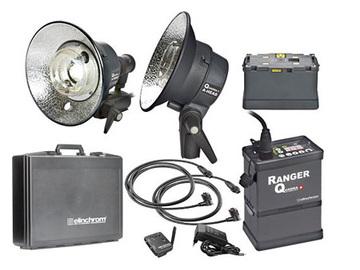 Rent: Elinchrom 400W/s Ranger Quadra A Light Kit