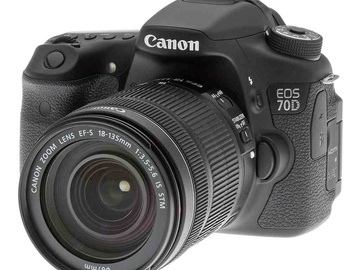Rent: Canon 70d with 18-135mm lens