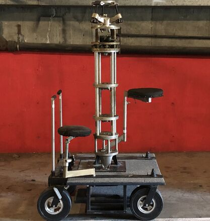 Complete Doorway dolly+16ft Track !2 seats!+Riser Kit +leve