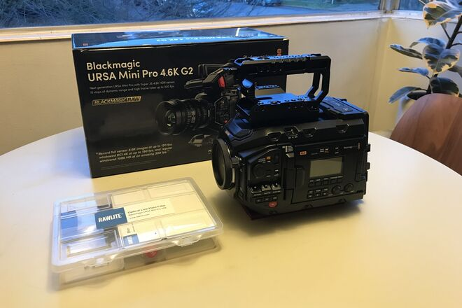 LIKE NEW Blackmagic URSA Mini Pro G2 RAWLITE OLPF plus more