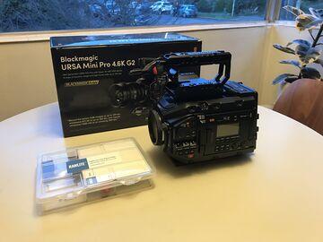 Rent: LIKE NEW Blackmagic URSA Mini Pro G2 RAWLITE OLPF plus more
