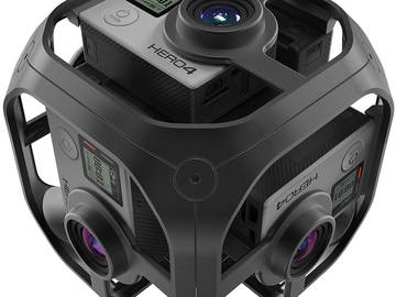 Rent: Synchornized GoPro 360 Omni VR Kit