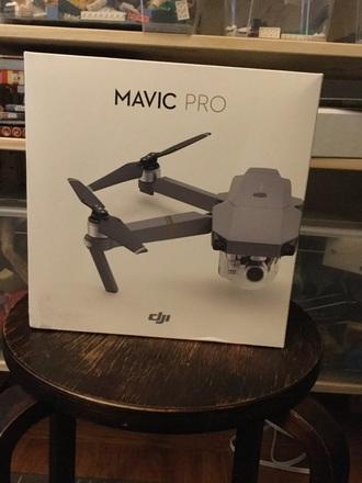 Mavic pro with accessories