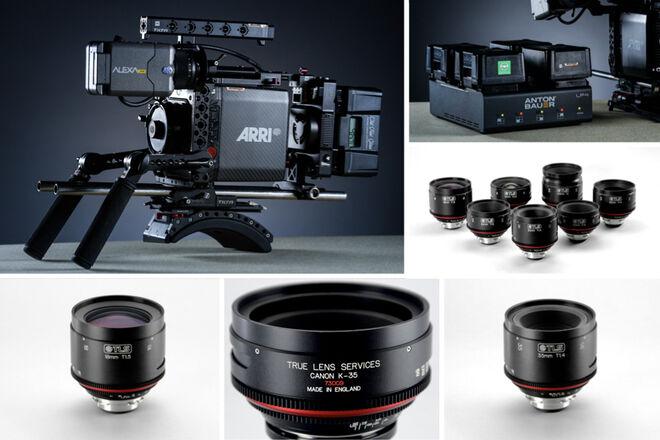 ARRI Alexa Mini + Canon K-35 Primes - Rehoused by TLS