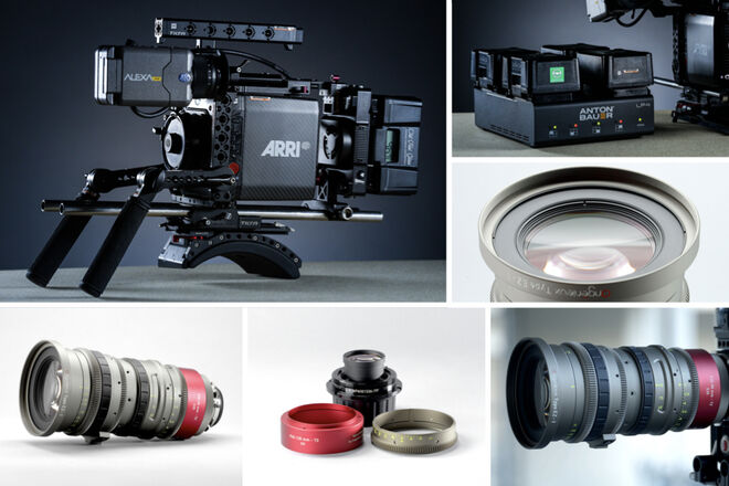 Alexa Mini + Angenieux EZ-1 30-90mm T2/45-135mm T3 PL or EF