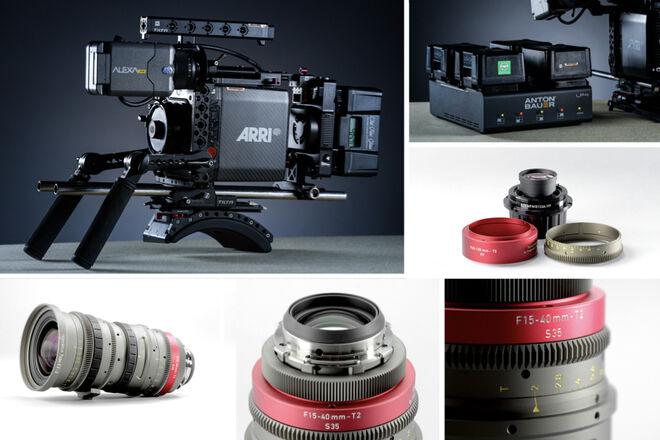 Alexa Mini + Angenieux EZ-2 15-40mm T2 / 22-60mm T3 PL or EF