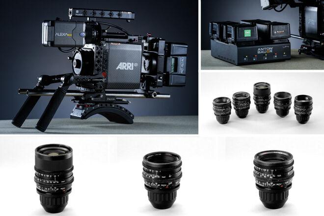 ARRI Alexa Mini + Zeiss Super Speeds MKII T1.3 - 5-Lens Set