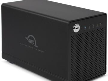 Rent: OWC 1TB Thunderbay Mini SSD RAID