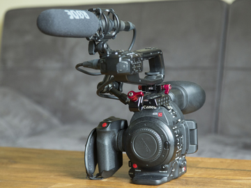 Rent: Canon C100 MK II documentary kit