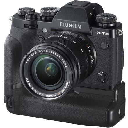 Fuji X-T3 Mirrorless w/Batt Grip + IOS 18-55 f2.8-4 Lens