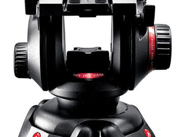 Rent: Manfrotto 504HD Head with 546B 2-Stage Aluminum Tripod