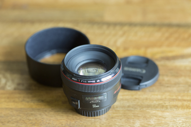 Canon 50MM L Lens