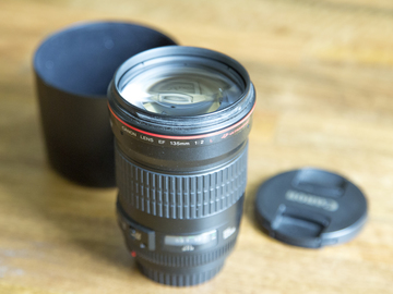Rent: Canon 135mm F2 L Lens