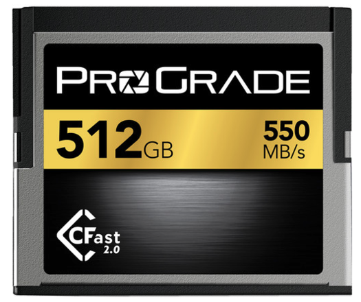 ProGrade 512 GB CFAST 2.0