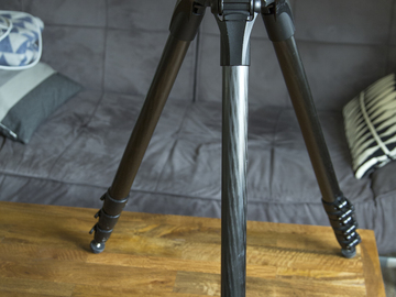 Manfrotto 504HD head w/ Carbon fiber sticks