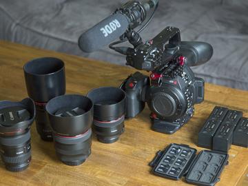 Rent: Canon C100 MK II documentary kit