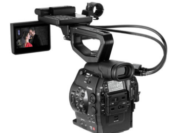 Rent: Canon C300 EF mount with Canon 70-200 F2.8 IS lens