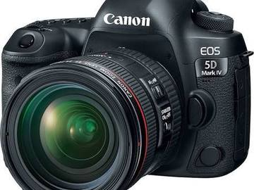 Rent: Canon 5DIV Full Kit