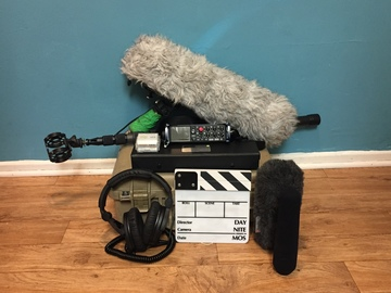 Rent: Zoom F8 | Sanken CS-3e Shotgun | Boom Pole w/ Blimp | Extras
