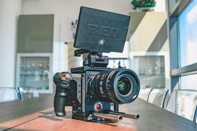 RED Helium 8K S35 Kit w/ Tripod & Rokinon Cine Lenses
