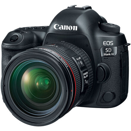 Canon EOS 5D Mark IV w/ 24-70mm f/2.8L II USM Lens