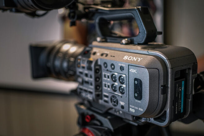 Sony PXW-FX9 6K Cinema Full Frame Camera