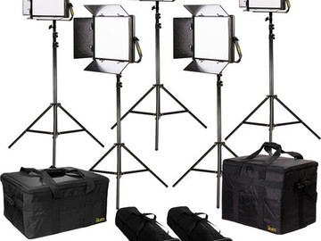 Rent: ikan Lyra Bi-Color 5-Point LED Soft Panel Light Kit with 2x