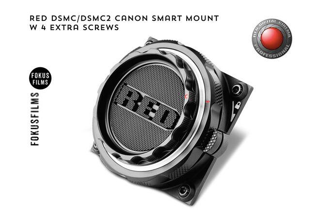 RED DSMC/DSMC2 Canon Smart Mount