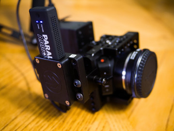 Rent: Black Magic MIcro Cinema Camera & Paralinx Arrow Plus Kit