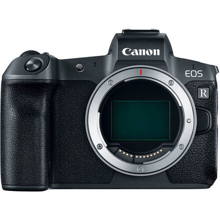 Canon EOS R with Adapter