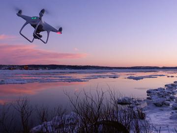 Rent: Dji Phantom 4  Gimbal Combo Drone