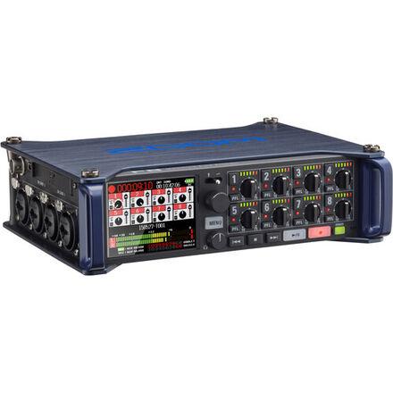 Zoom F8 Audio Kit (1 Lavalier Set, Shotgun Mic, Boom Pole)
