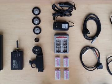 Bartech digital wireless follow focus, Heden motor