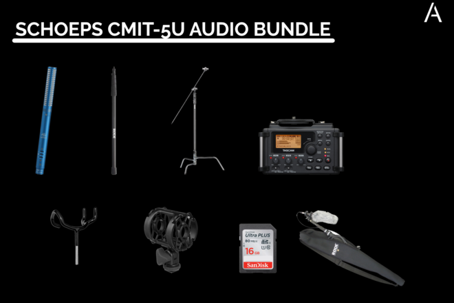 Schoeps CMIT-5U Audio Bundle