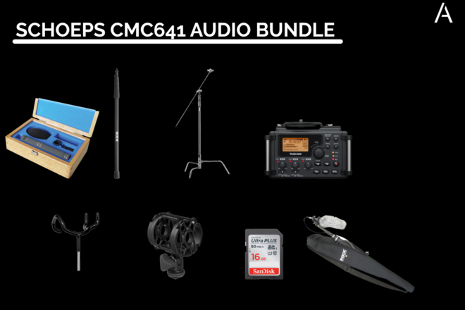 Schoeps CMC641 Audio Bundle