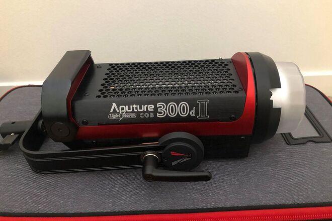 Aputure LS C300d II w/ Light Dome Mini II