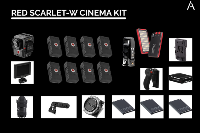 RED Scarlet-W Dragon 5K Cinema Bundle