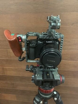 Panasonic Lumix Gh5 Filmmaker Kit with Vlog update