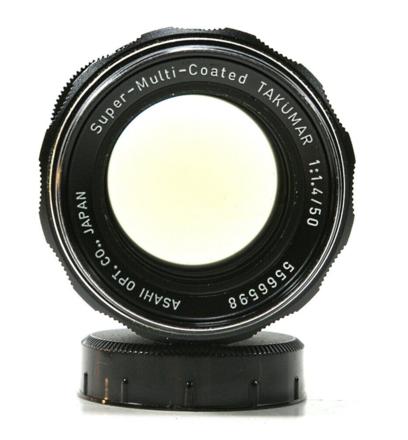 Legendary SMC Takumar 50mm F1.4 -- Canon Adapter