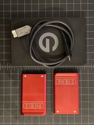 RED MINI-MAG - 480GB X 2 + USBc G-Tech reader
