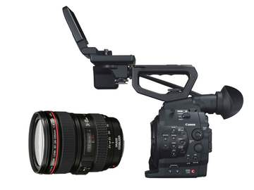 Rent: Canon C300 EF Mount w/ 24-105 Lens and Tripod Package