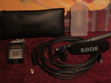 Rent: RODE Shotgun Mic NTG-2 + ZOOM H4N (BUNDLE)