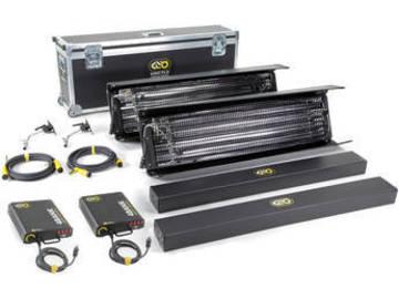 Kino Flo Gaffer 4' 4Bank, 2-Light Kit (120U)